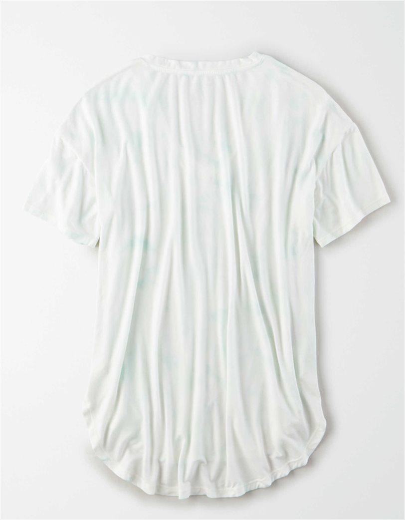 AE Soft & Sexy V-Neck T-Shirt Λευκό 3