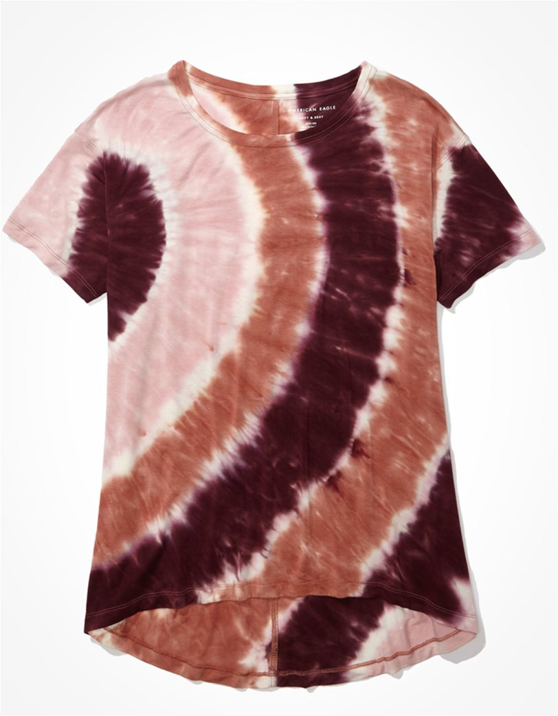 AE Soft & Sexy Tie-Dye Crew Neck T-Shirt 2