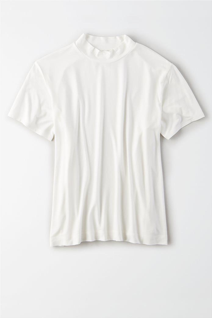 AE Mock Neck T-Shirt 0