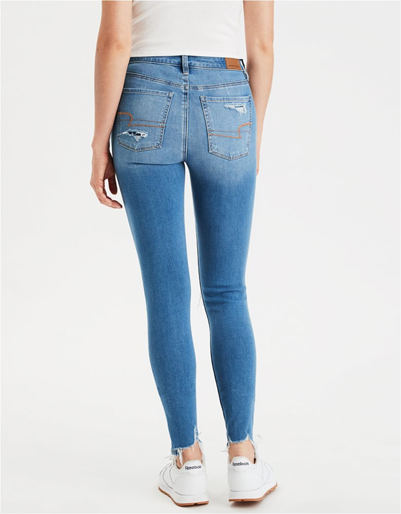 AE The Dream Jean Super High-Waisted Jegging Μπλε 2