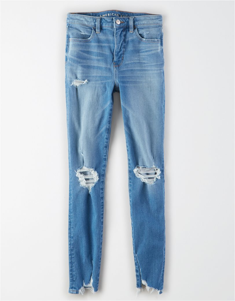 AE The Dream Jean Super High-Waisted Jegging Μπλε 3