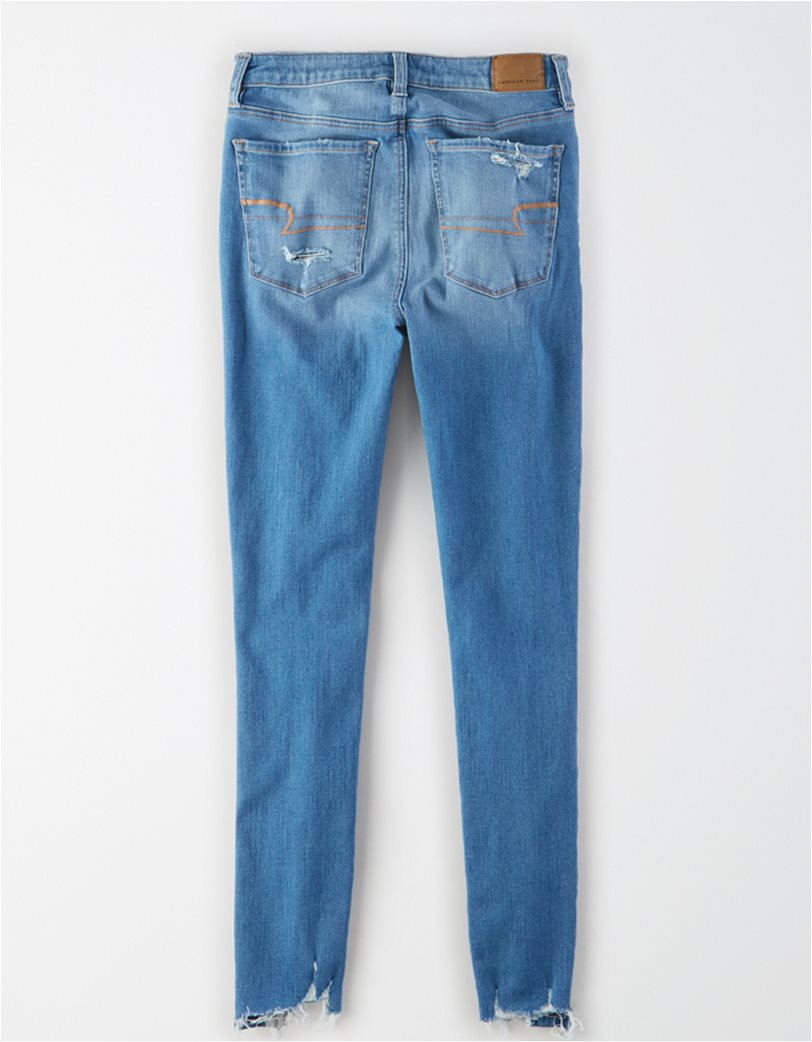 AE The Dream Jean Super High-Waisted Jegging Μπλε 4
