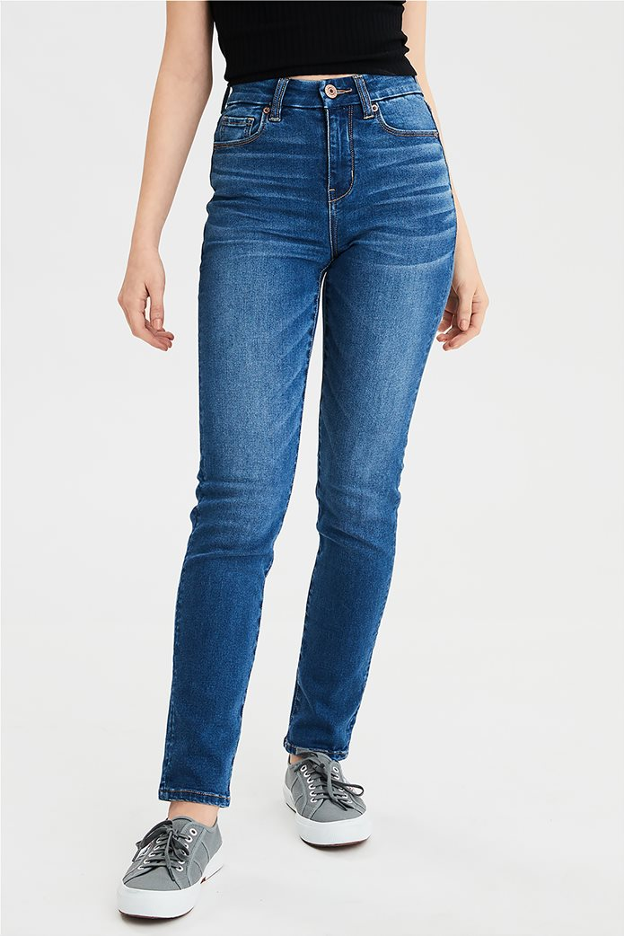 AE Ne(X)t Level Curvy High-Waisted Skinny Jean 0