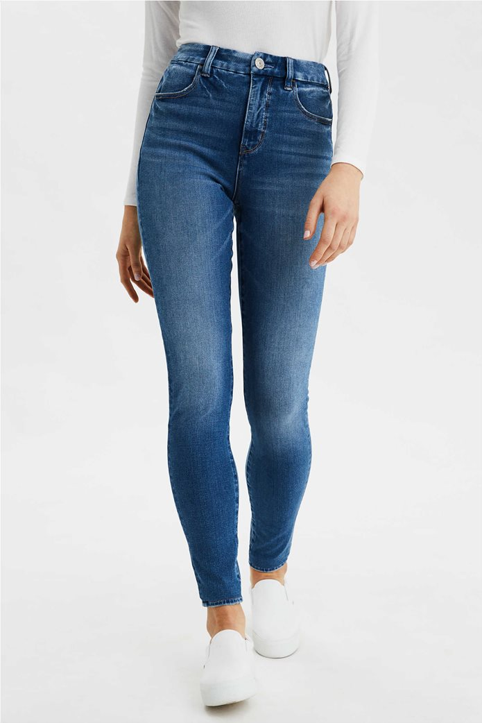 The Dream Jean Curvy High-Waisted Jegging Μπλε 0