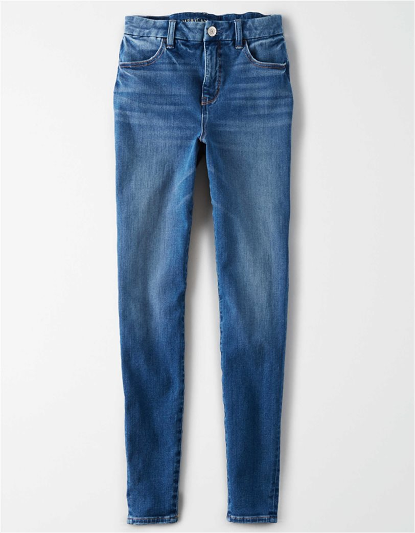 The Dream Jean Curvy High-Waisted Jegging Μπλε 3