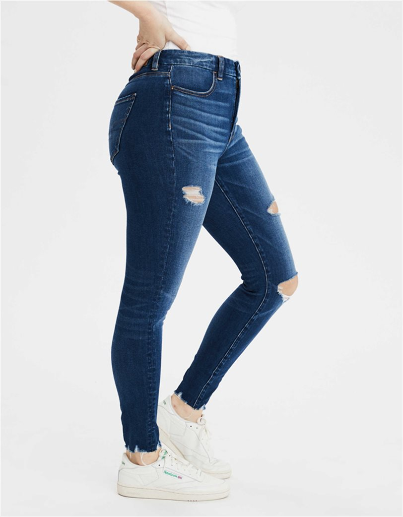 The Dream Jean Curvy High-Waisted Jegging Μπλε Σκούρο 1