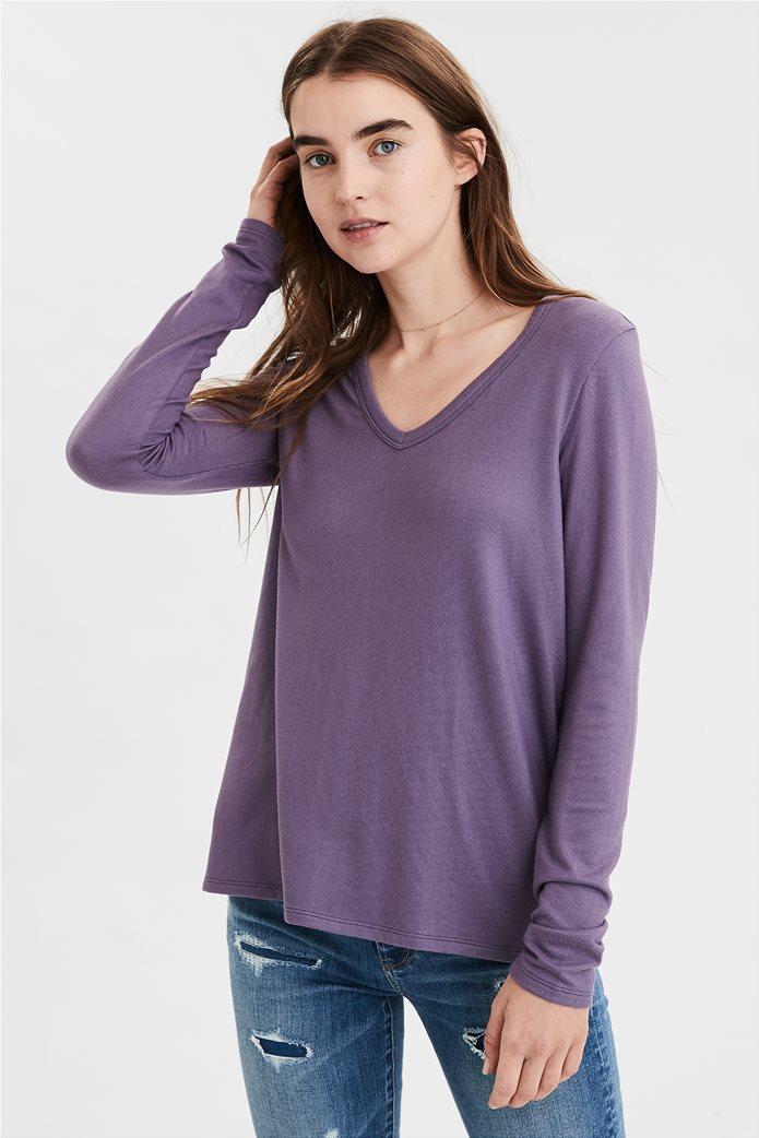 AE Soft Plush Long Sleeve T-Shirt 0