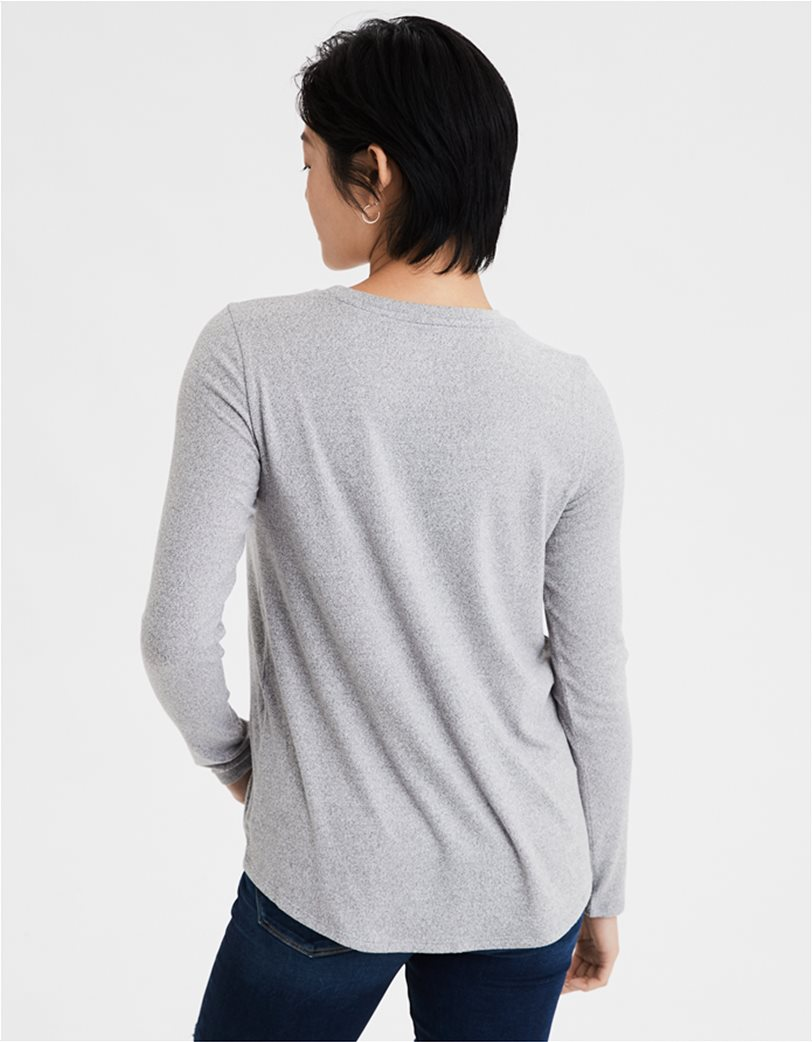 AE Soft Plush Long Sleeve T-Shirt 1