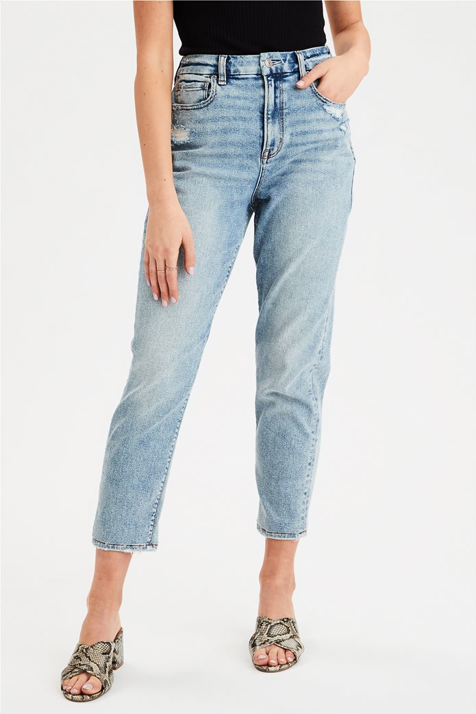 AE Stretch Curvy Mom Jean 0