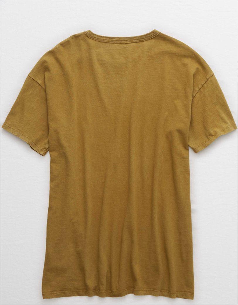 Aerie Boyfriend Distressed Oversized T-Shirt 3