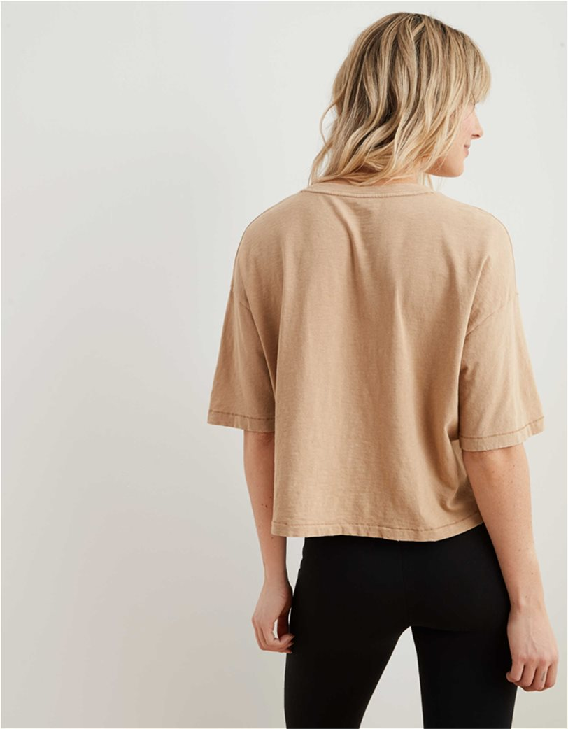 Aerie Boyfriend Cropped Oversized T-Shirt 2