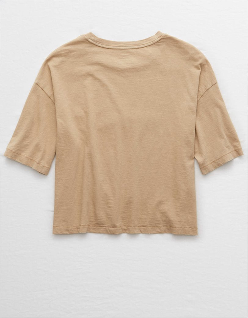 Aerie Boyfriend Cropped Oversized T-Shirt 4