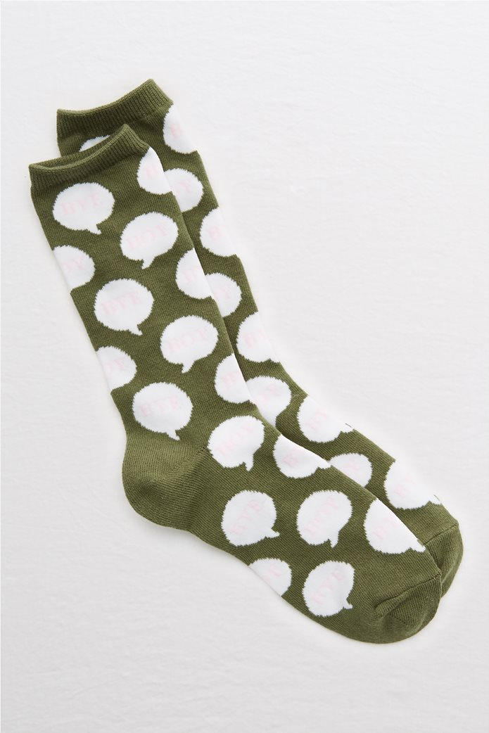 Aerie 3D Crew Socks 0