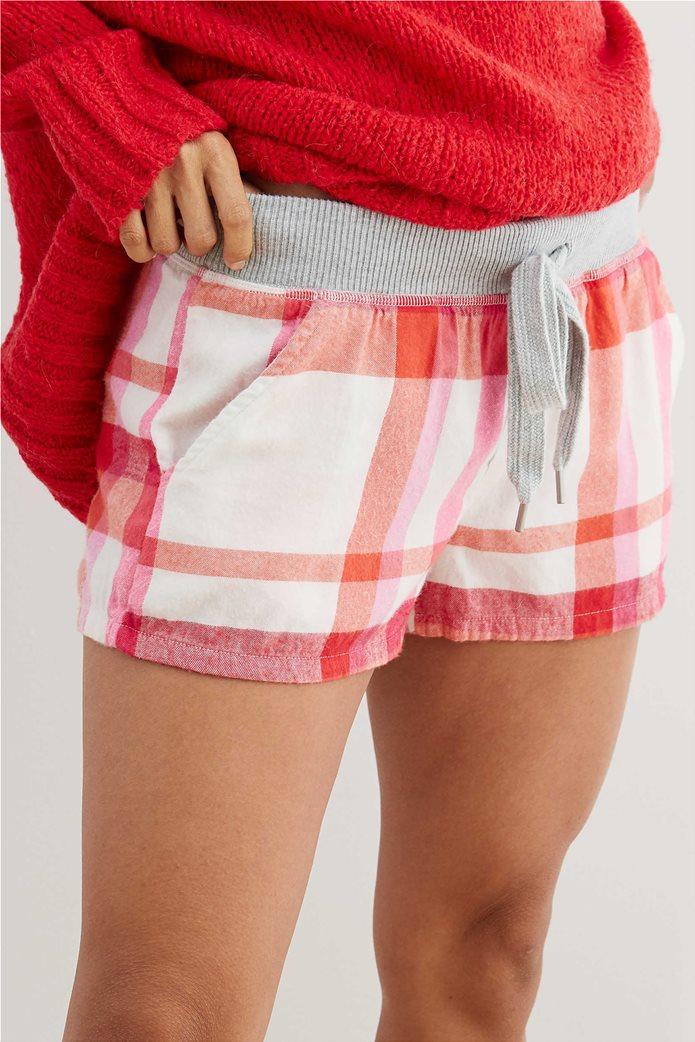 Aerie Flannel Boxer Κόκκινο 0