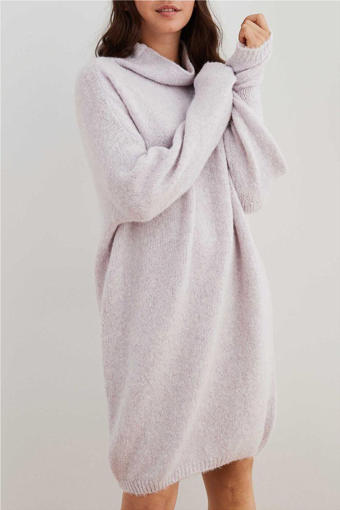 Aerie Turtleneck Sweater Dress Λιλά 0