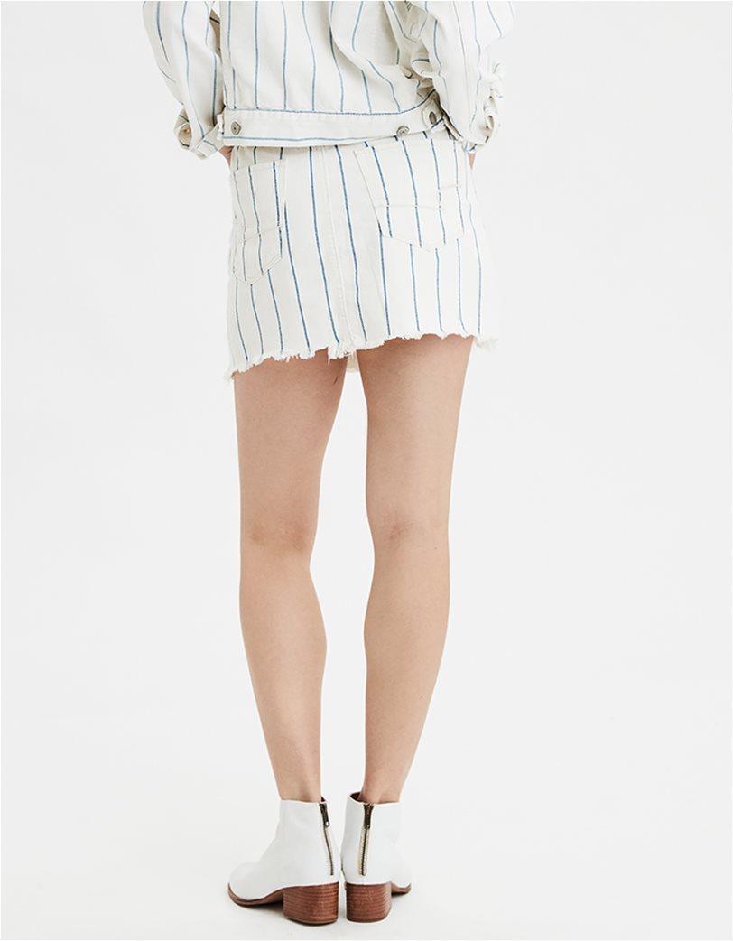 AE High-Waisted Denim Mini Skirt 1