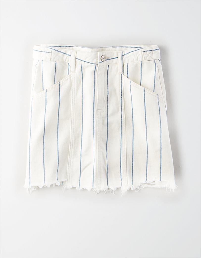 AE High-Waisted Denim Mini Skirt 2