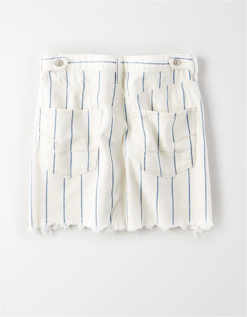 AE High-Waisted Denim Mini Skirt 3