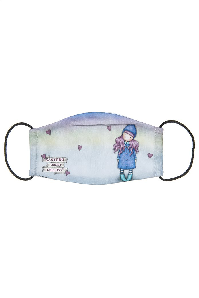 "Alouette παιδική βαμβακερή μάσκα προστασίας με print ""Santoro"" Πολύχρωμο 0"