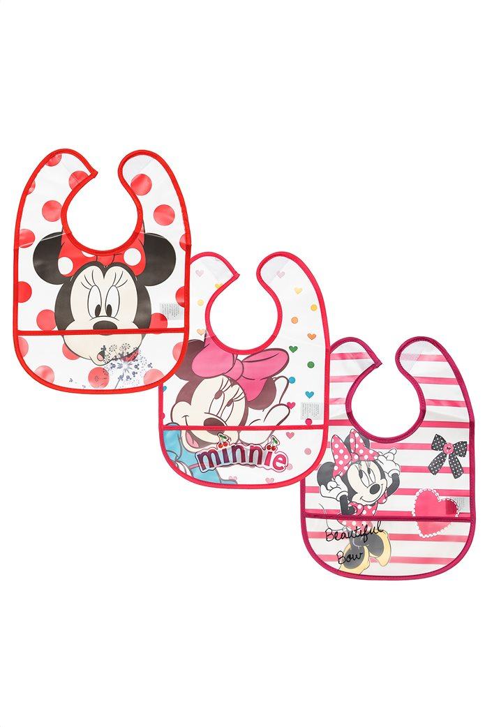 Alouette σετ σαλιάρες Disney Minnie Mouse (3 τεμάχια) Πολύχρωμο 0