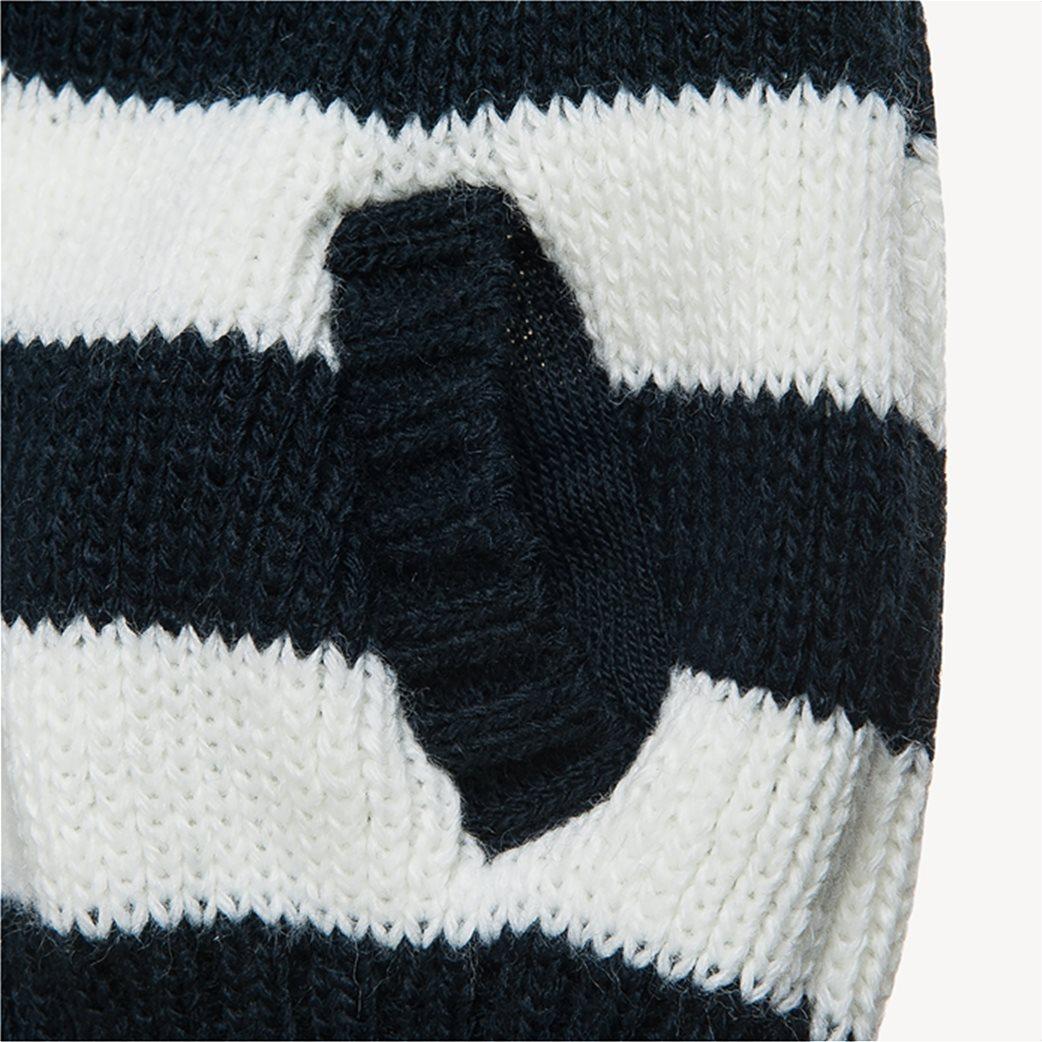 Αlouette παιδική πλεκτή ριγέ ζακέτα με κουκούλα 2