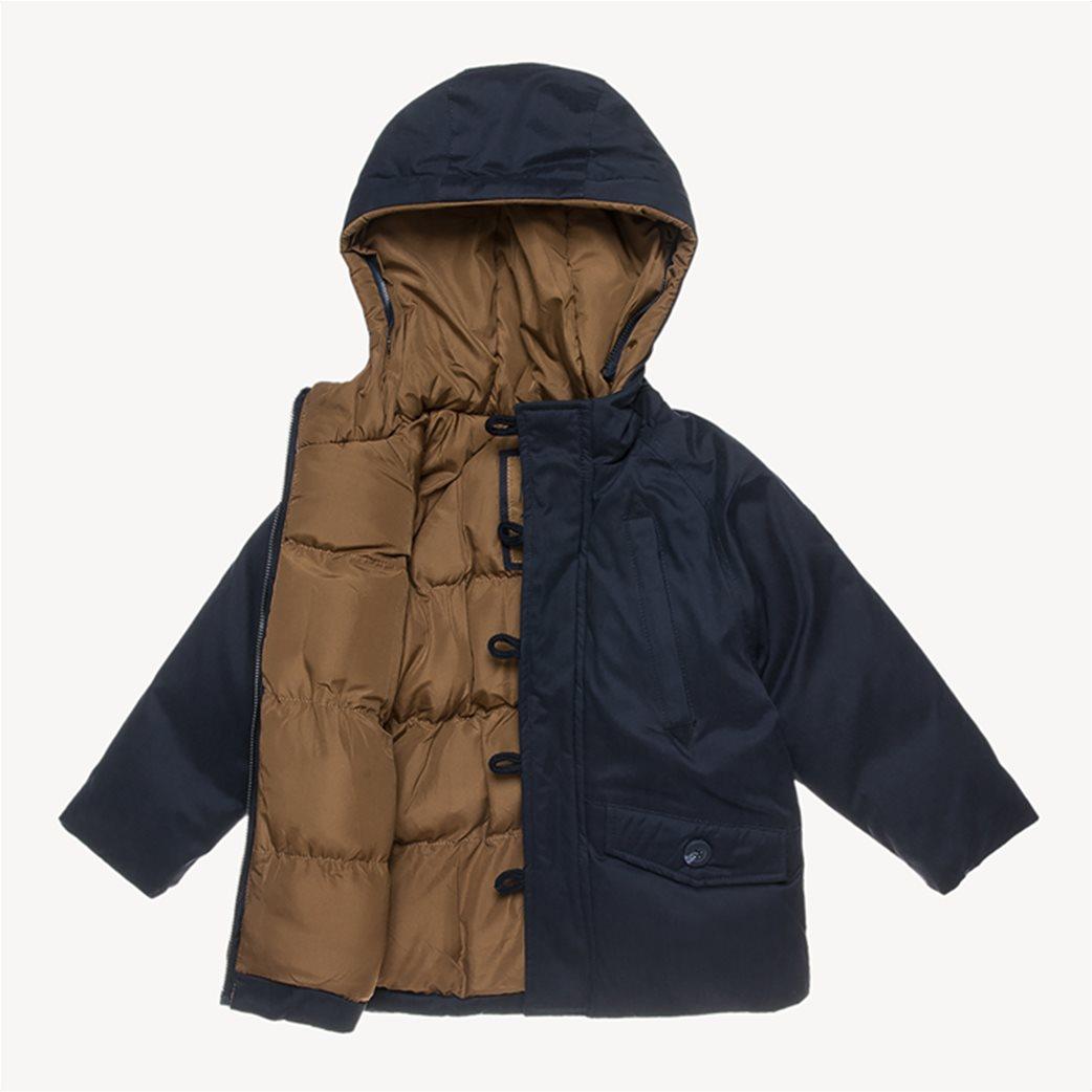 Alouette παιδικό μπουφάν με αφαιρούμενη γούνα στην κουκούλα 2