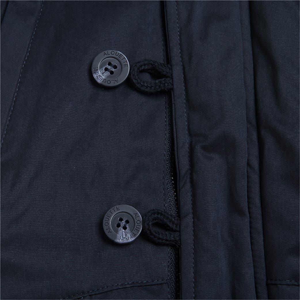 Alouette παιδικό μπουφάν με αφαιρούμενη γούνα στην κουκούλα 4