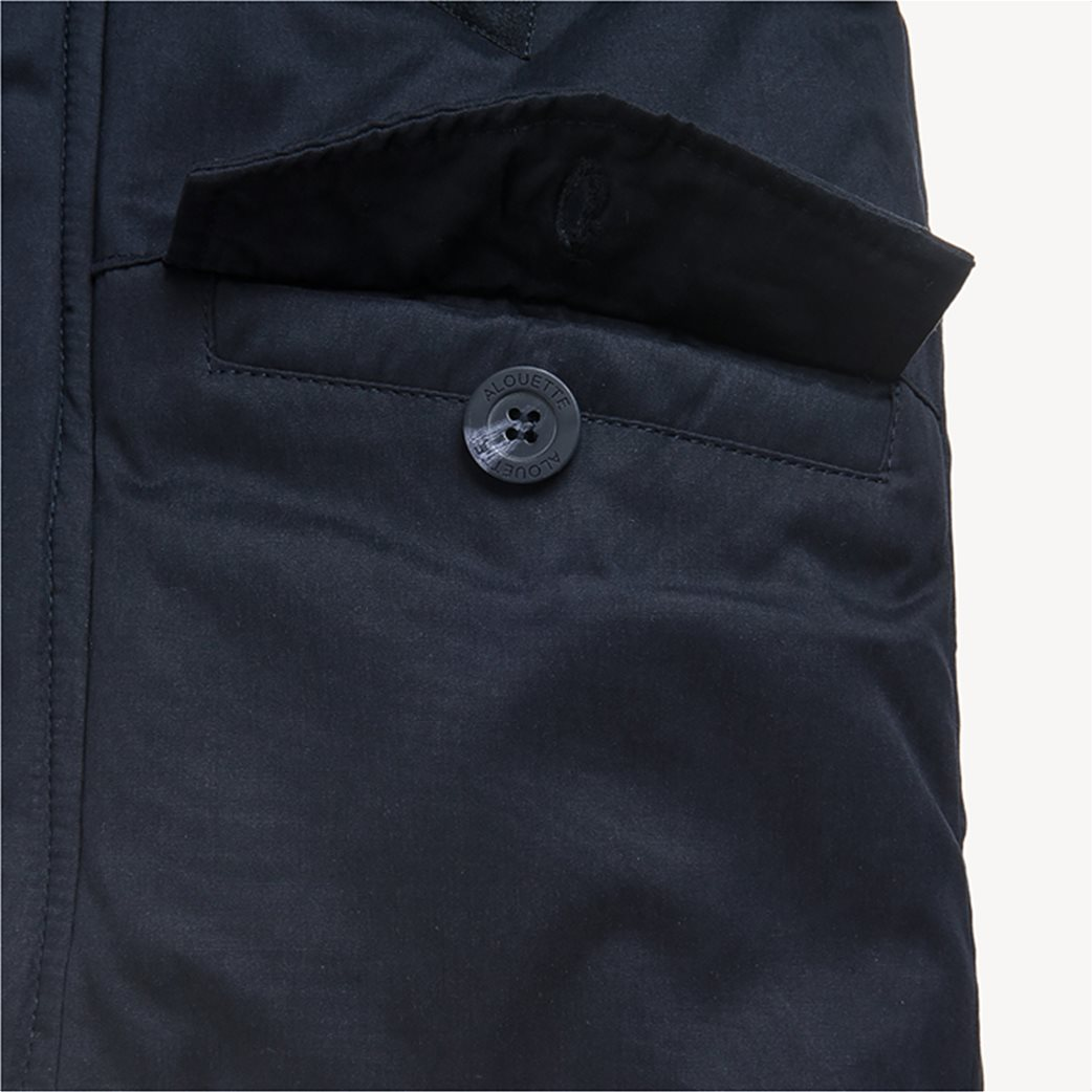 Alouette παιδικό μπουφάν με αφαιρούμενη γούνα στην κουκούλα 6