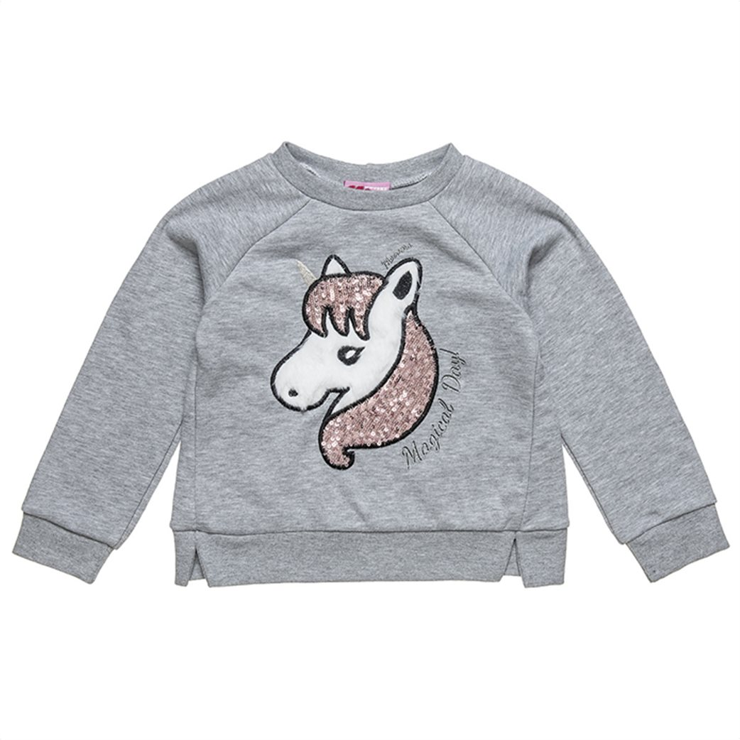 "Alouette παιδικό σετ ρούχων μπλούζα με κέντημα και παντελόνι ""Moovers"" (2-5 ετών) 1"