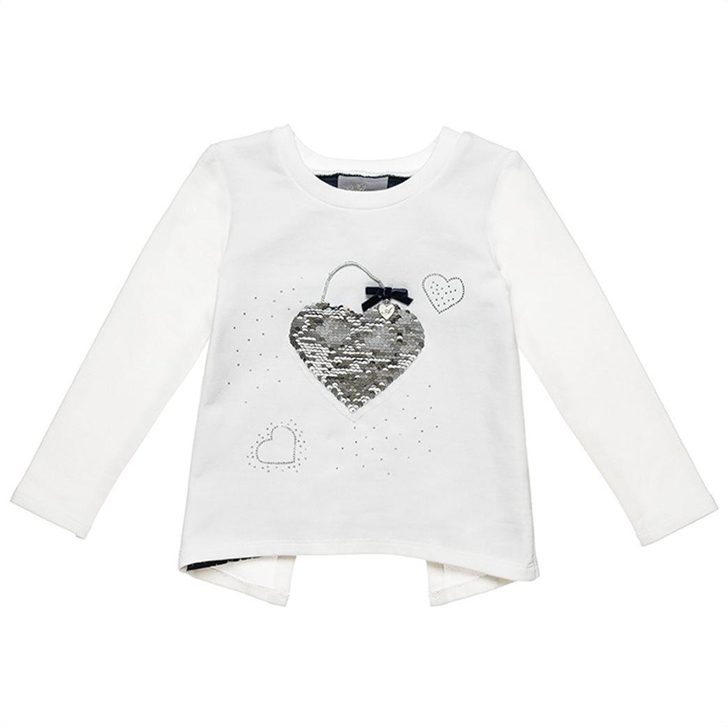 Alouette παιδικό σετ ρούχων μπλούζα με παγιέτα και κολάν (2-5 ετών) 2