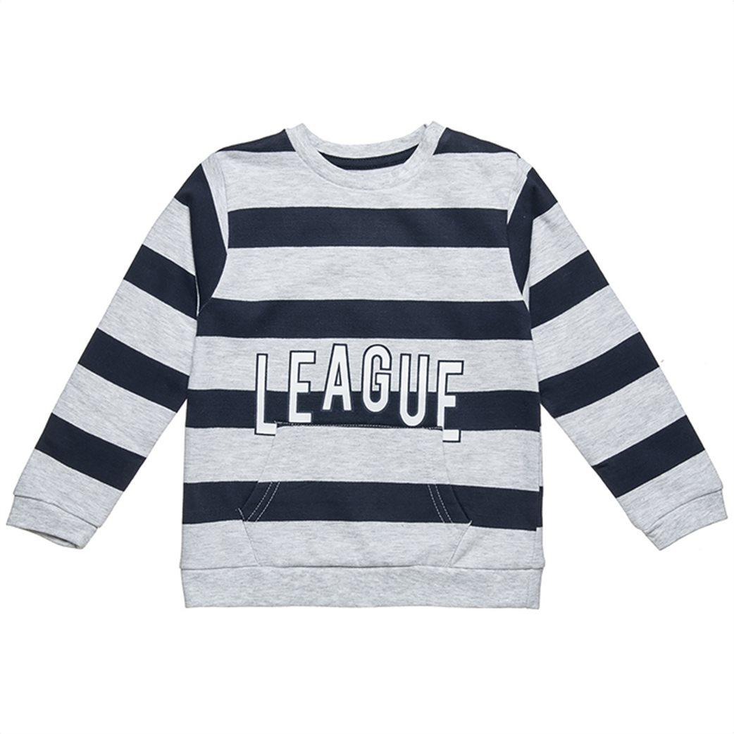 Alouette παιδικό σετ ρούχων μπλούζα με ρίγες και παντελόνι (6 μηνών-8 ετών) 1