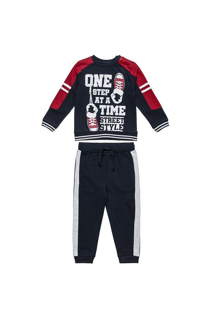 Alouette παιδικό σετ φόρμας μπλούζα με print και παντελόνι (6 μηνών-5 ετών) 0