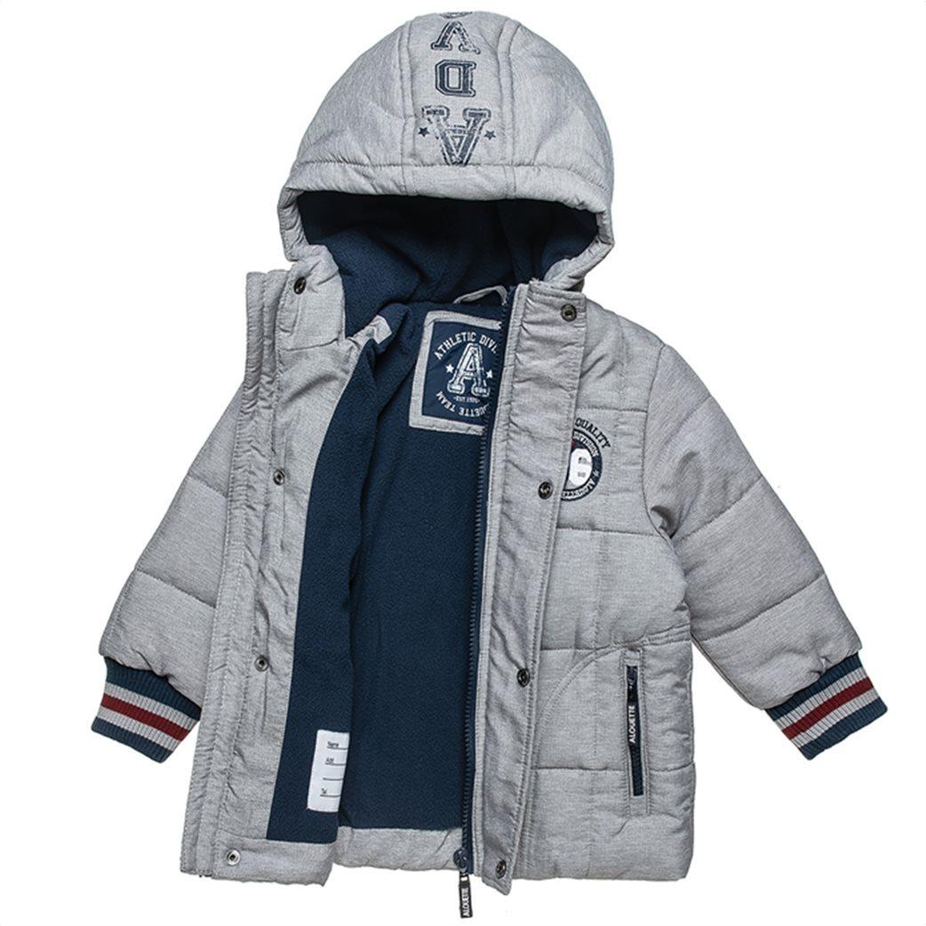 Alouette παιδικό μπουφάν με κουκούλα και fleece επένδυση (12 μηνών-5 ετών) 1