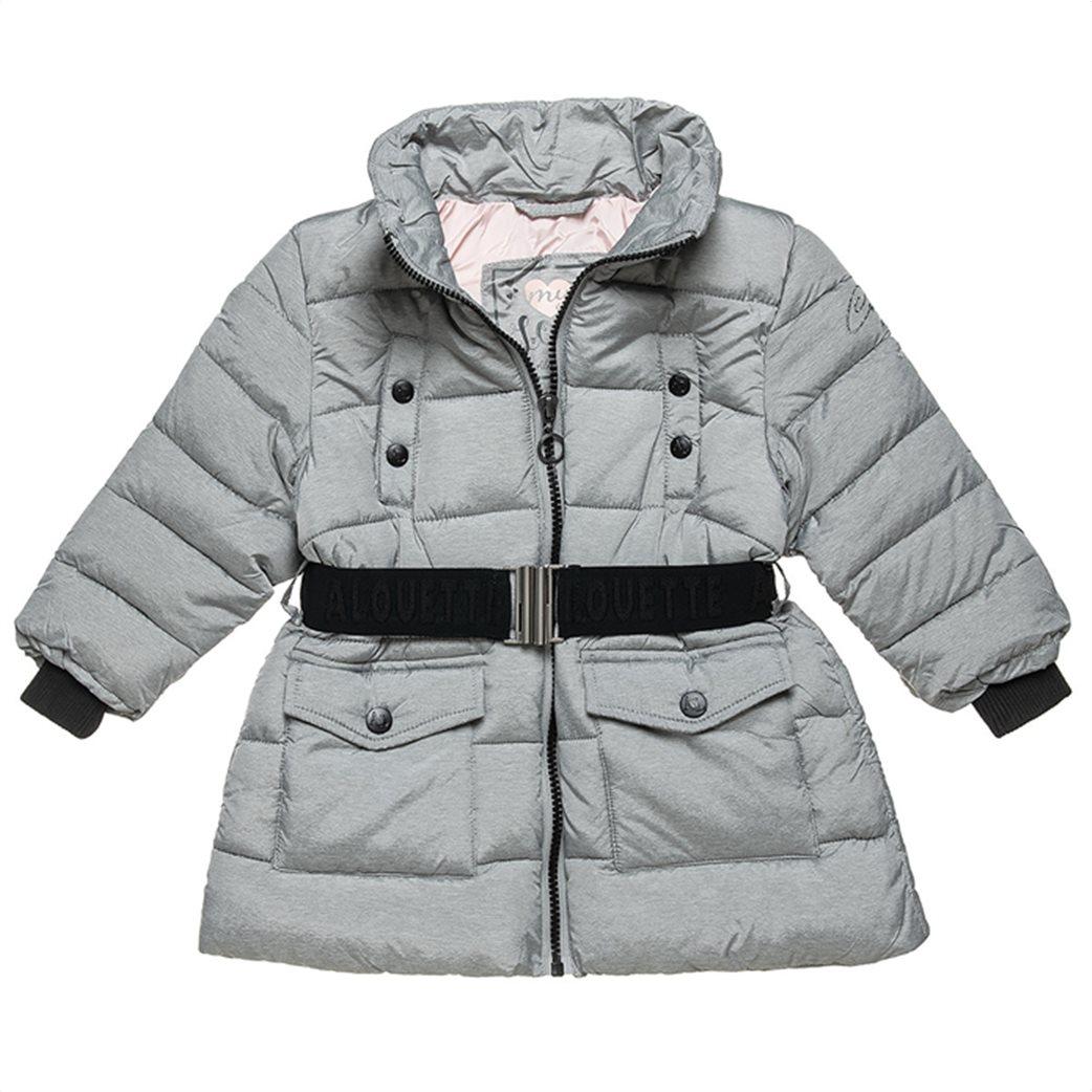 Alouette παιδικό μπουφάν με αποσπώμενη κουκούλα και ζώνη (18 μηνών-5 ετών) 3