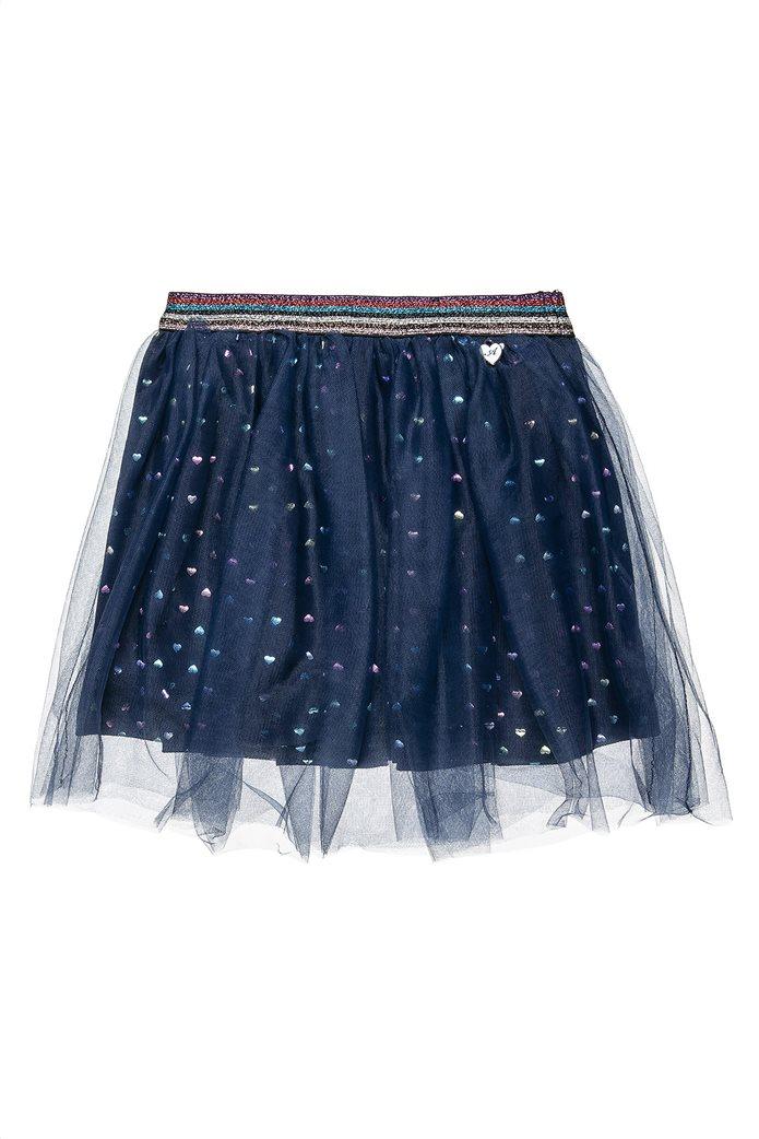 Alouette παιδική φούστα με καρδούλες και τούλι (2-5 ετών) 0