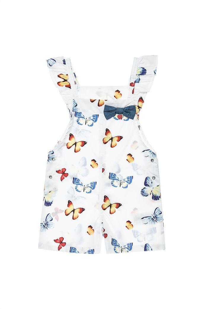 Alouette παιδική ολόσωμη φόρμα με all-over butterfly print (12 μηνών-5 ετών) 0