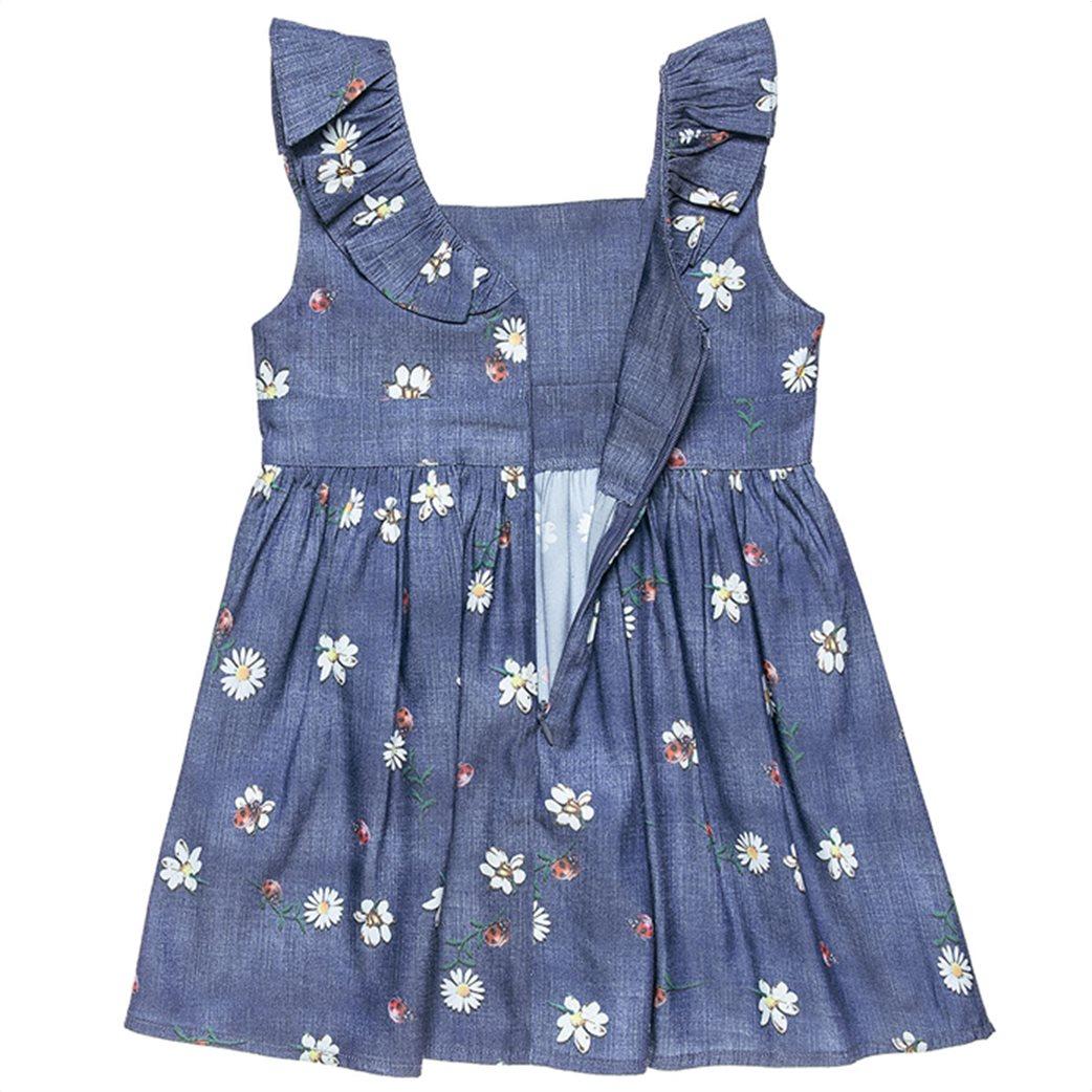 Alouette παιδικό denim φόρεμα με βολάν (12 μηνών-5 ετών) 2