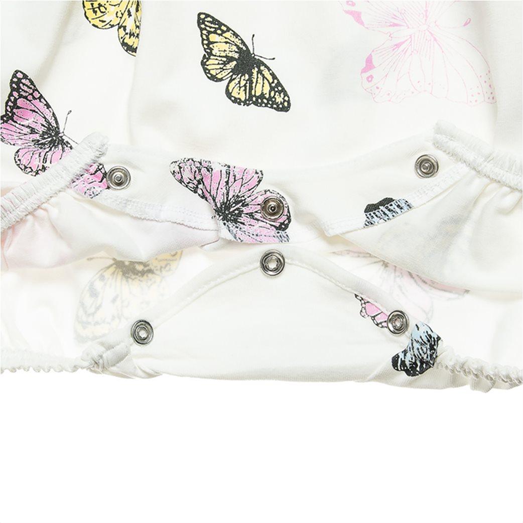 Alouette βρεφικό φορμάκι με all-over butterfly print και απλικέ φιόγκο (1-9 ετών) 2