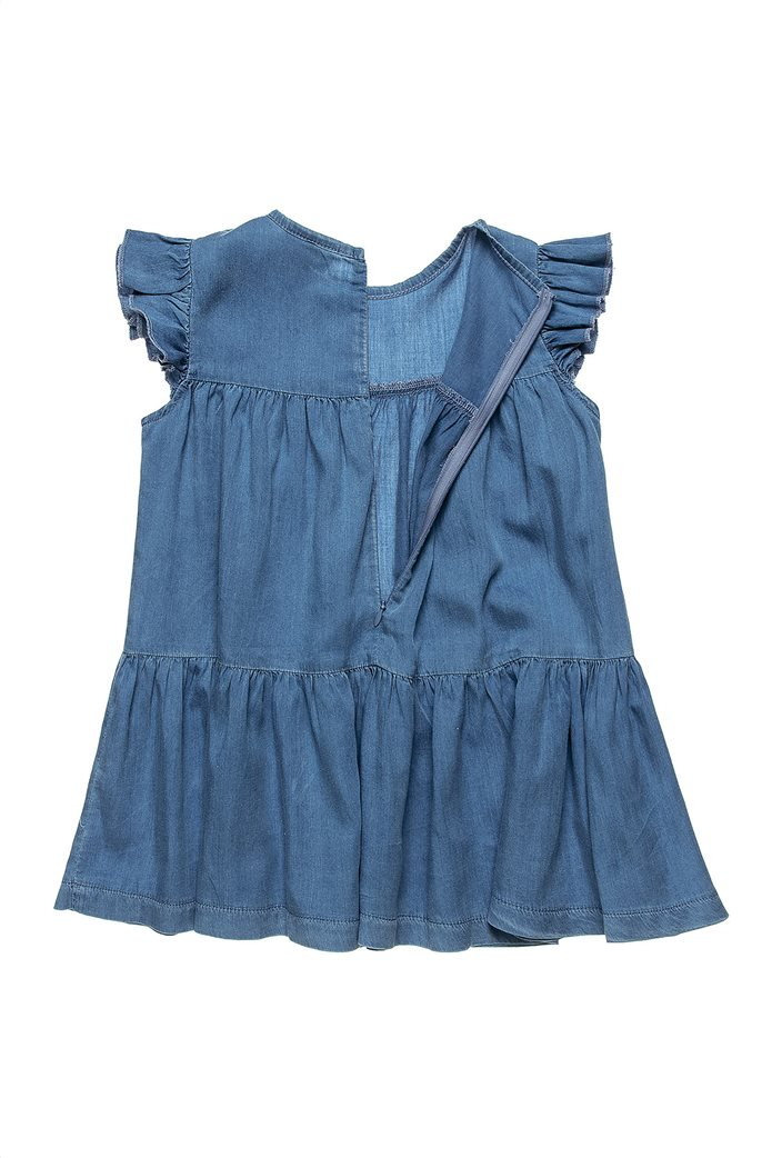 Alouette παιδικό denim φόρεμα με στρας λεπτομέρειες (2-5 ετών) 1