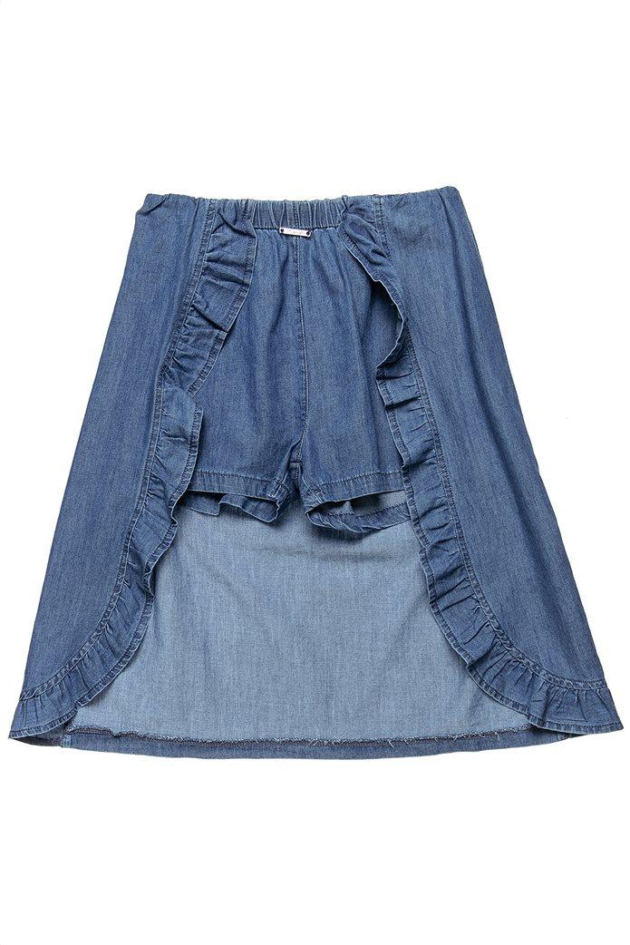 Alouette παιδική τζην φούστα με ενσωματωμένο σορτς (6-14 ετών) 1