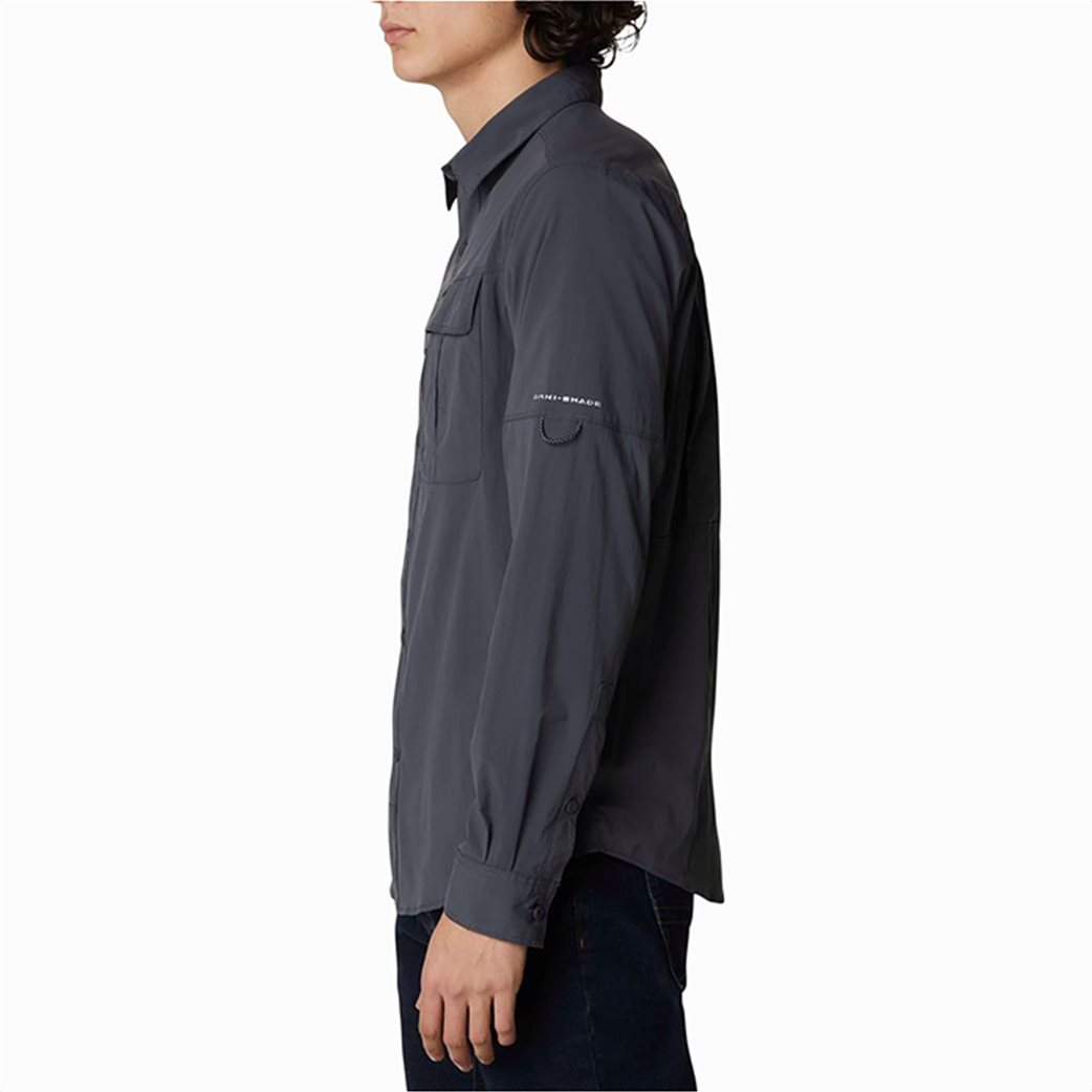 Columbia ανδρικό πουκάμισο μονόχρωμο με flap τσέπες στο στήθος ''Newton Ridge™'' 2