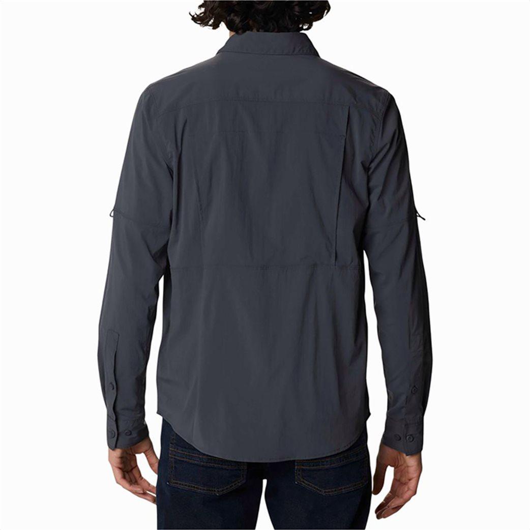 Columbia ανδρικό πουκάμισο μονόχρωμο με flap τσέπες στο στήθος ''Newton Ridge™'' 3