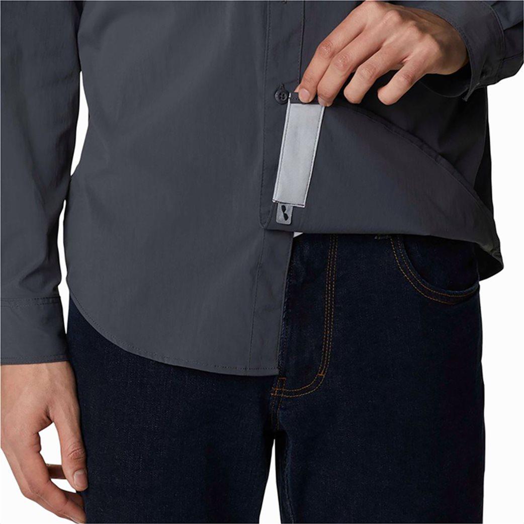 Columbia ανδρικό πουκάμισο μονόχρωμο με flap τσέπες στο στήθος ''Newton Ridge™'' 4
