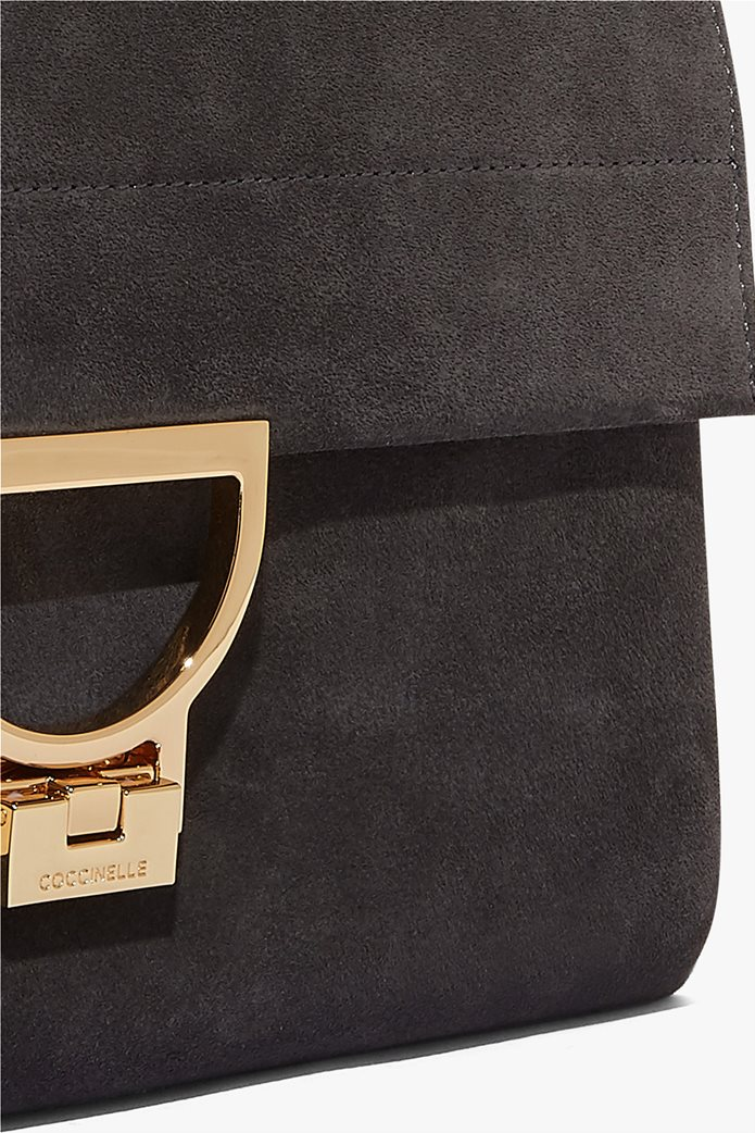 Coccinelle τσάντα χειρός Arlettis Medium suede 4