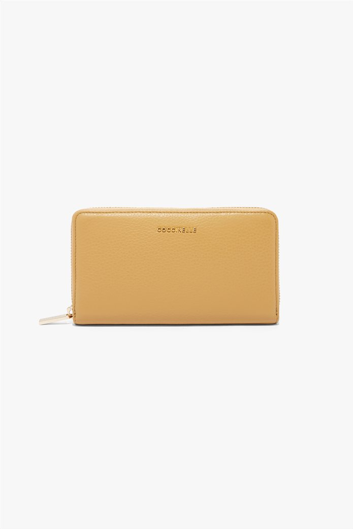 Coccinelle γυναικείo πορτοφόλι Metallic Soft 0