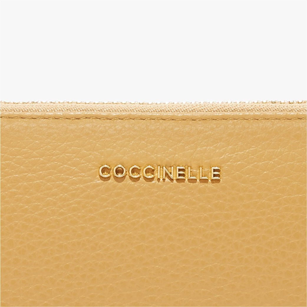 Coccinelle γυναικείo πορτοφόλι Metallic Soft 2