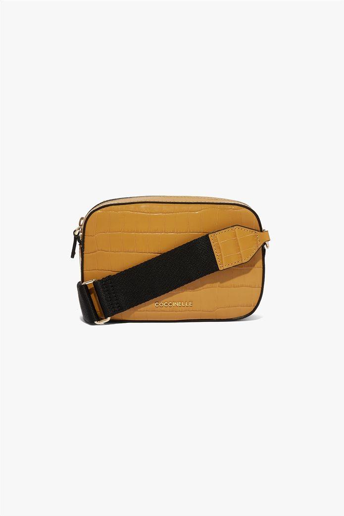Coccinelle γυναικείο mini bag Tebe Croco 0