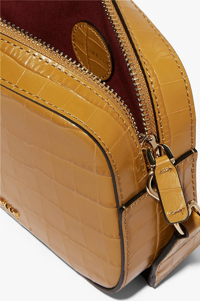 Coccinelle γυναικείο mini bag Tebe Croco 1