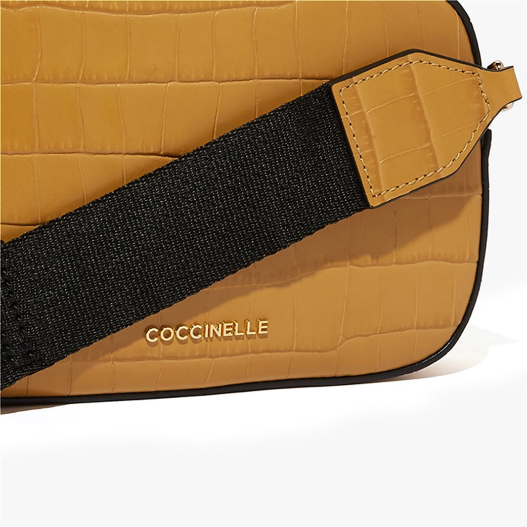 Coccinelle γυναικείο mini bag Tebe Croco 3