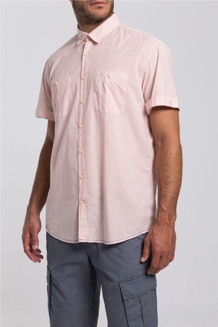 e4ae3cc21b97 Camel Active ανδρικό πουκάμισο ριγέ με κοντό μανίκι 3